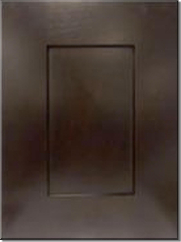 Java Shaker Cabinetry Display Door