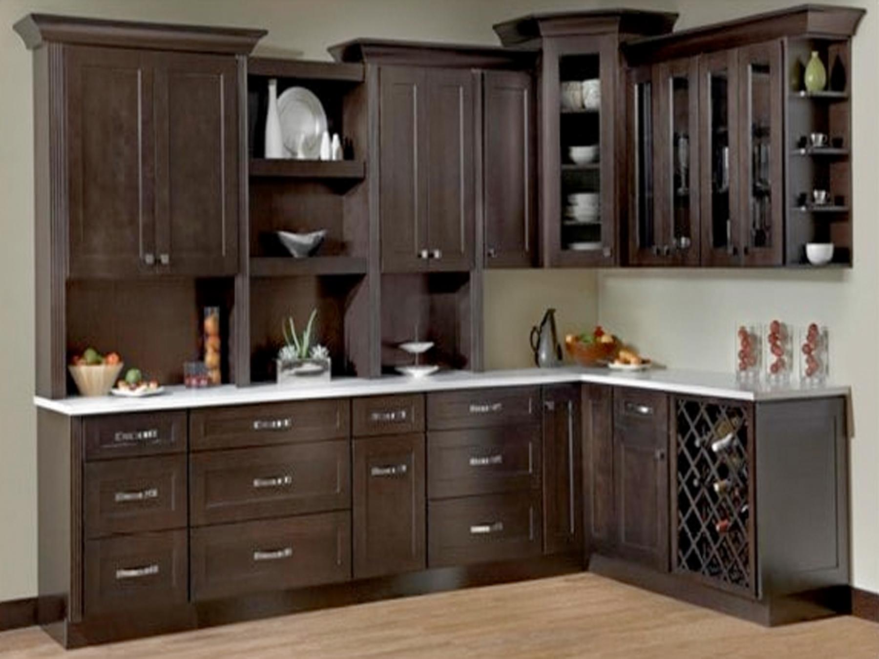 Java Shaker Kitchen Kraftsman Cabinetry