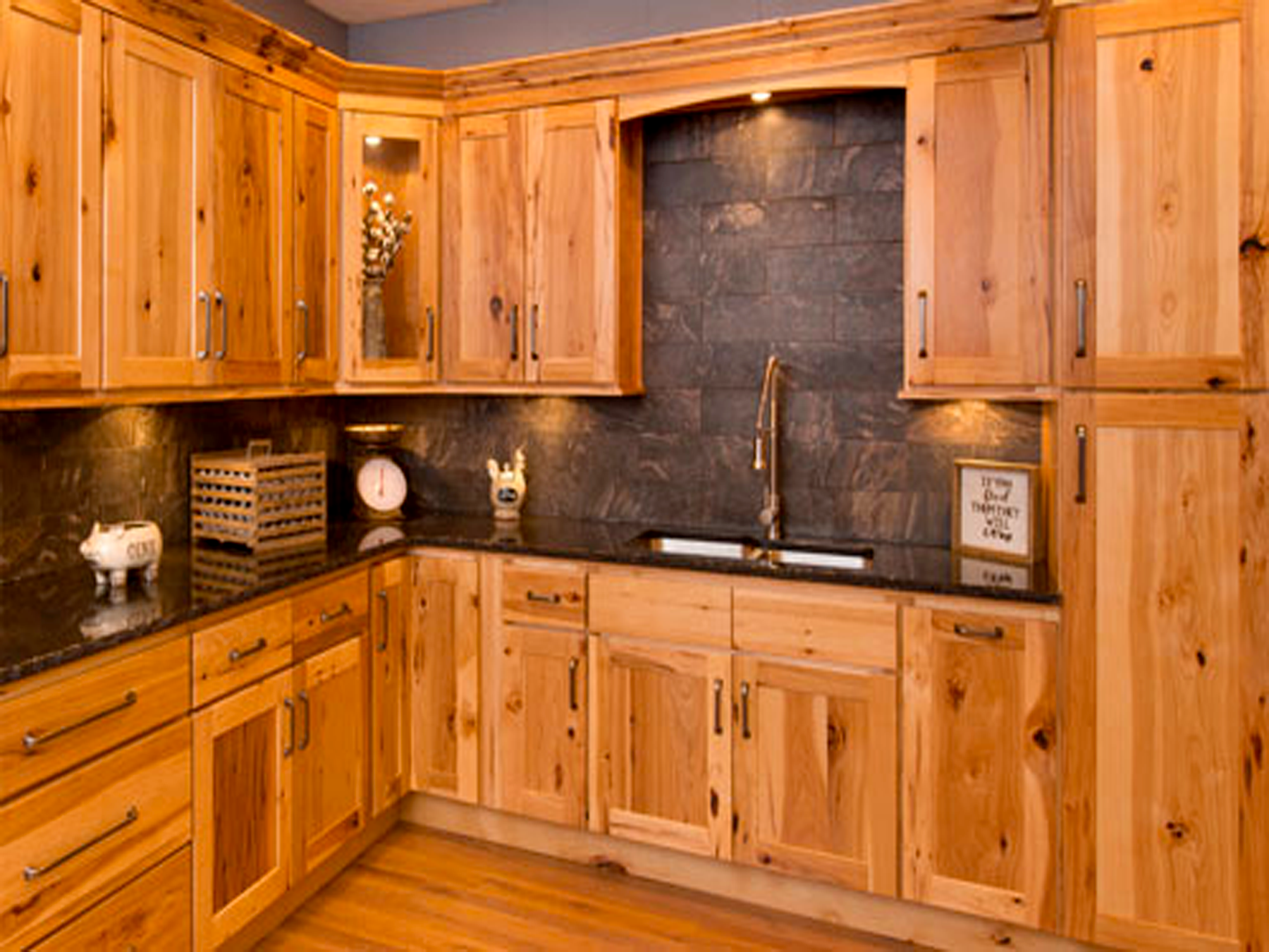 Hickory Shaker RTA Kitchen